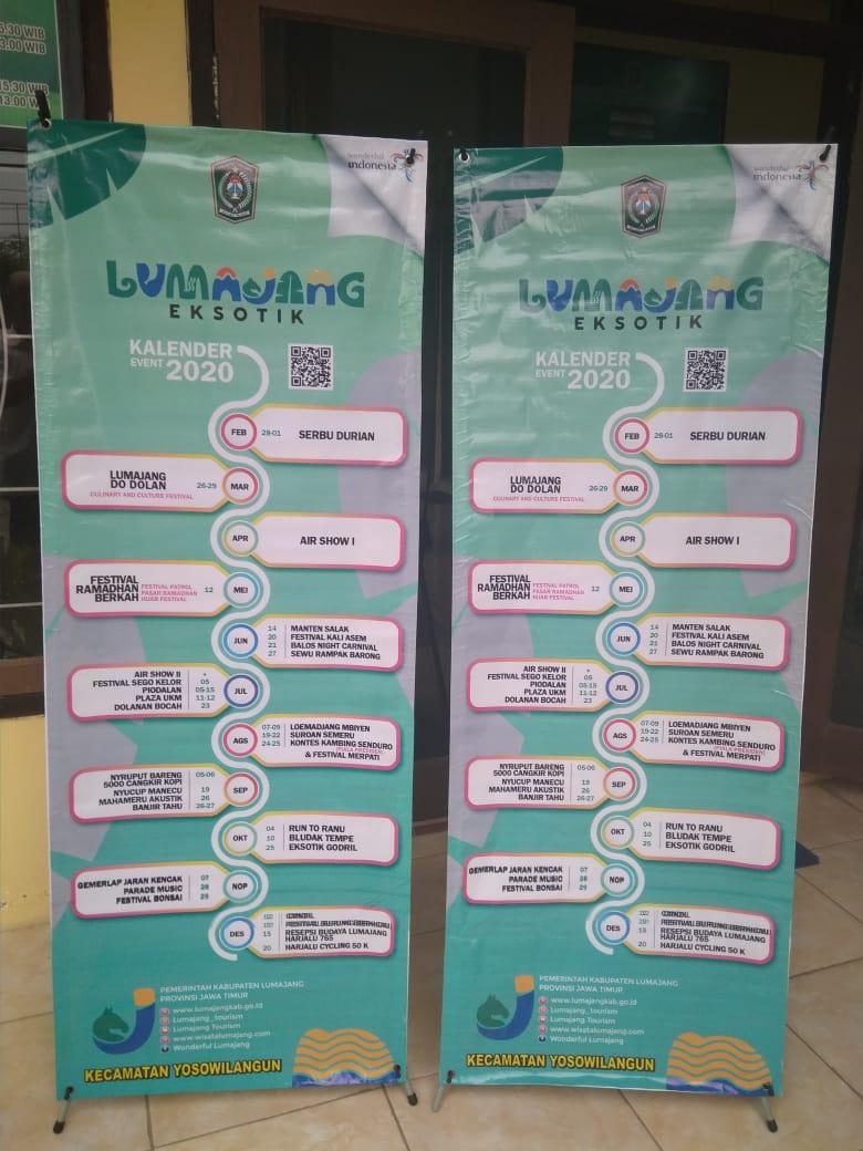 Kalender Even dan Exsotik Kabupaten Lumajang 2020